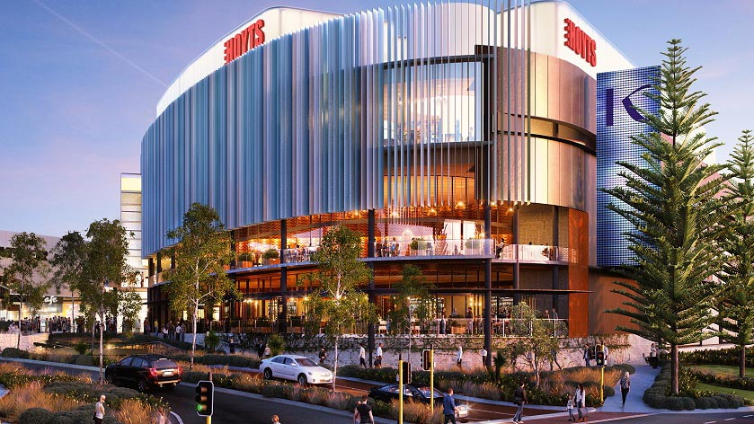 Karrinyup Shopping Centre - Under Construction - Builder Multiplex